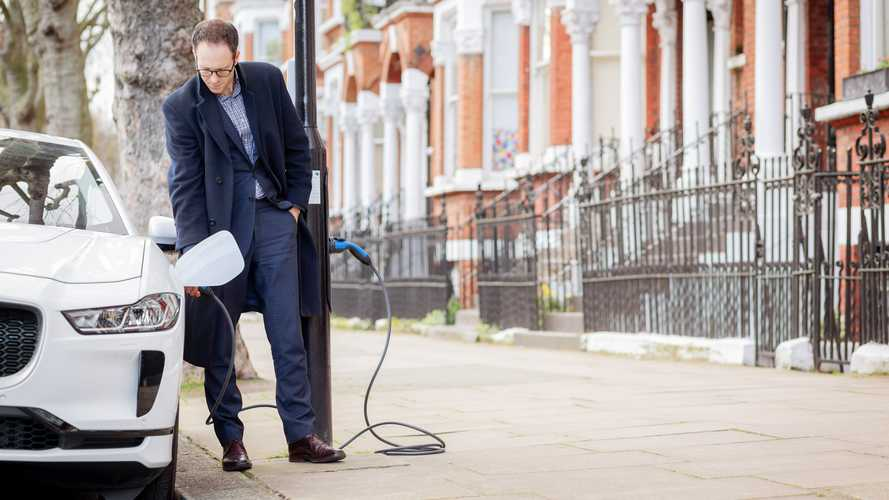UK's first residential avenue fully converted to lamppost charging