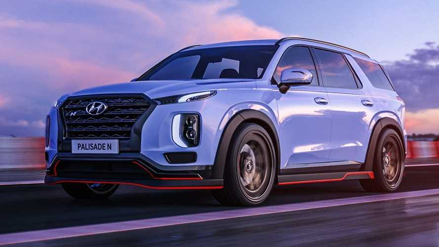Hyundai Palisade N And Nexo N Are Fake, But Should Be Real