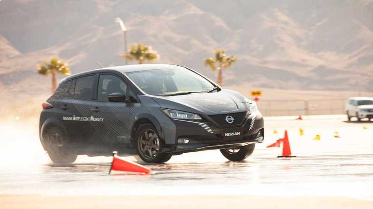 Nissan e-4orce test car