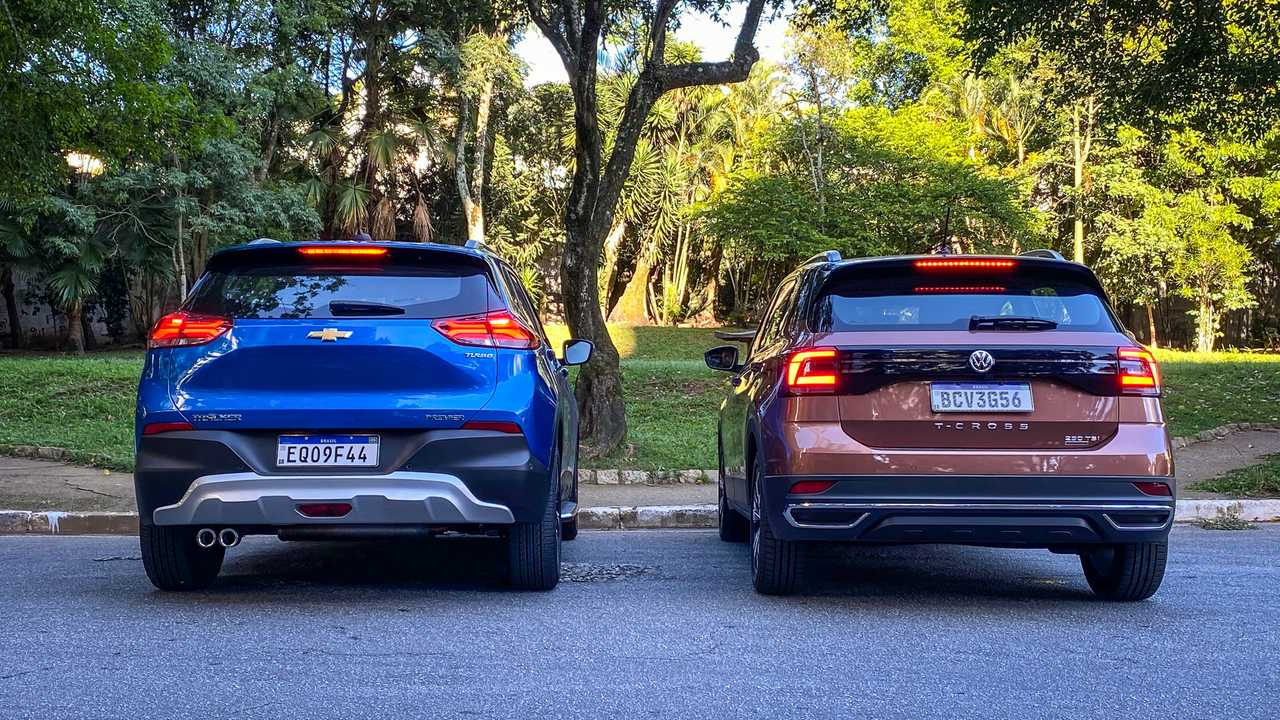 Chevrolet Tracker x VW T-Cross