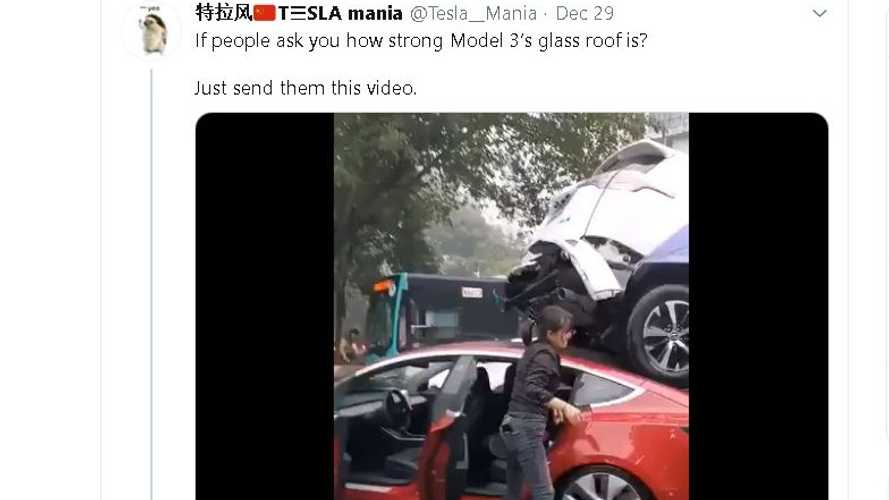 Tesla Model 3 Proves Its Unbelievable Crash Safety In Multi-Car Pileup