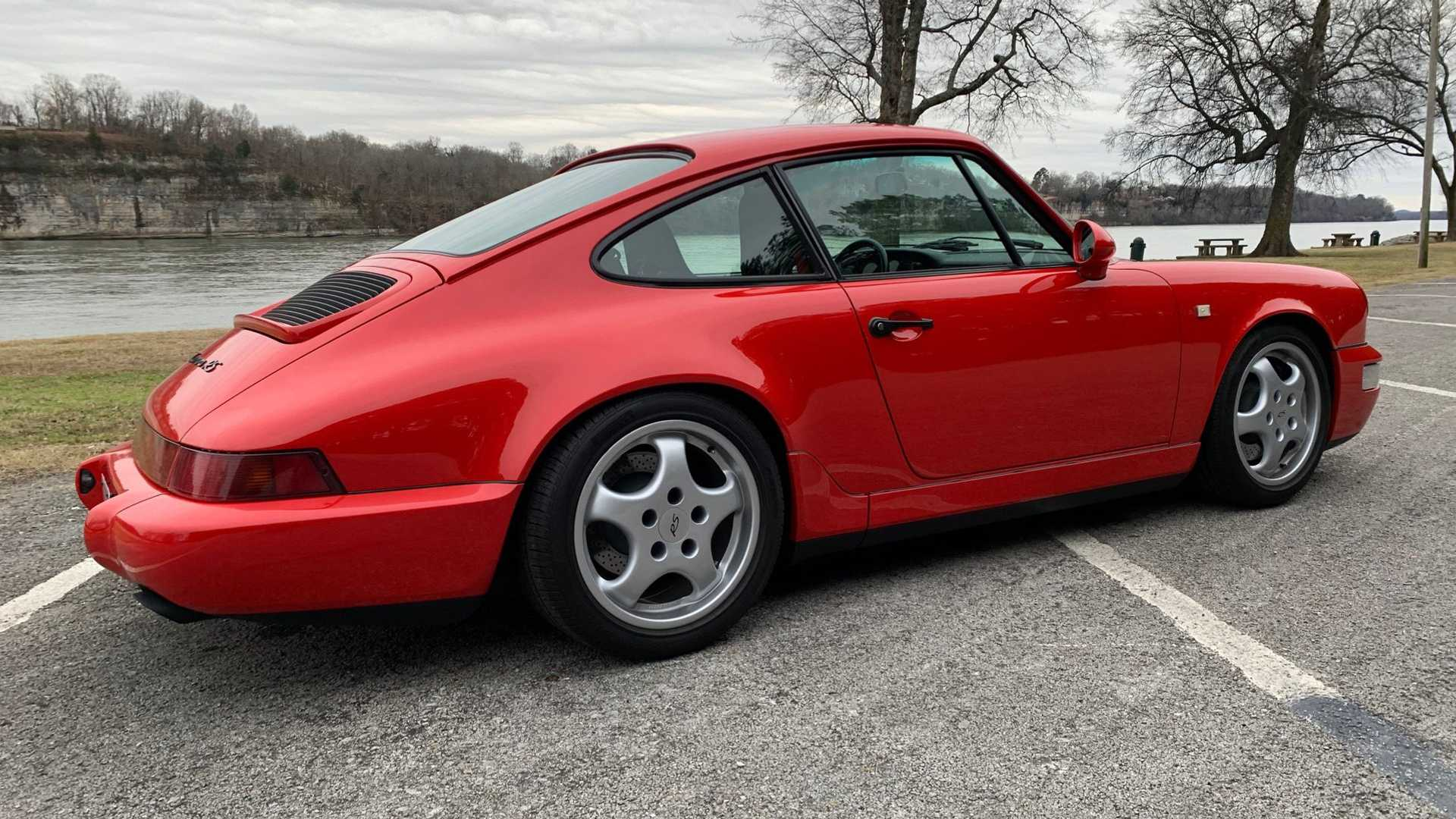 """[""""Drive This Extremely Rare 1992 Porsche Carrera RS""""]"""