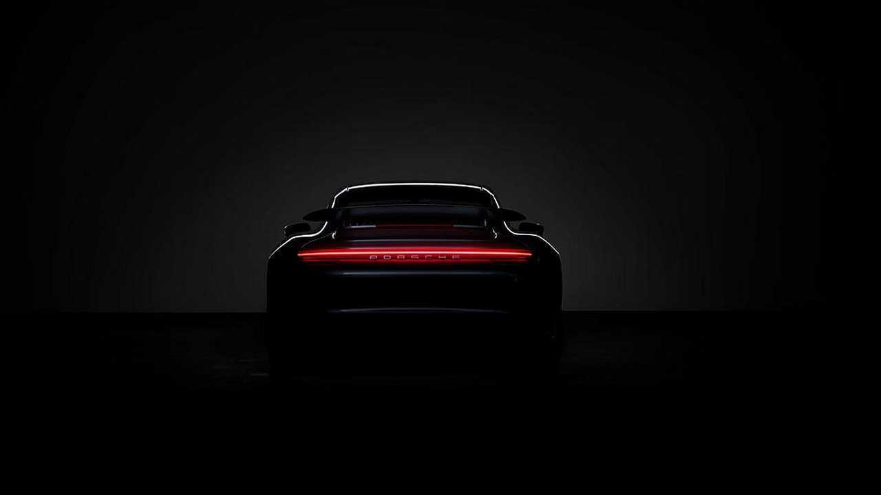 Teaser Porsche 911 Turbo