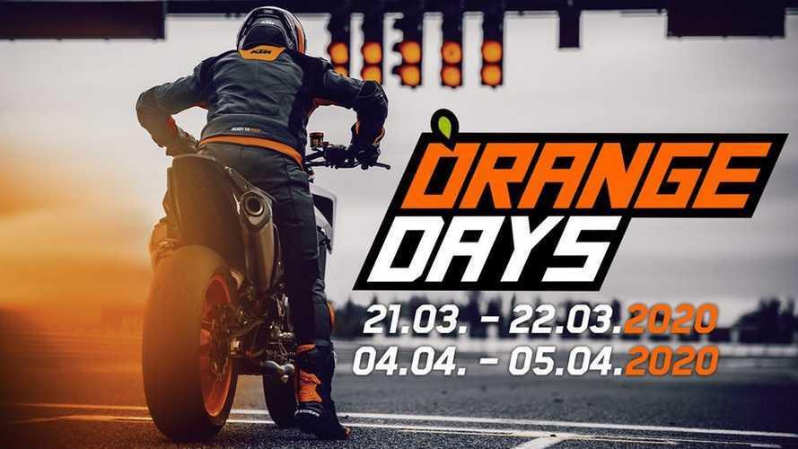 KTM Orange Days 2020: Duke e Adventure in prova dai concessionari