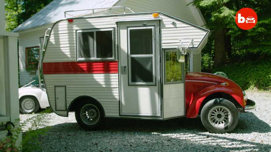 Custom VW Beetle Is The Cutest Camper Ever