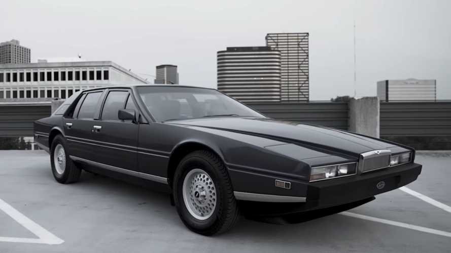 Auto Designer Loves The Aston Martin Lagonda