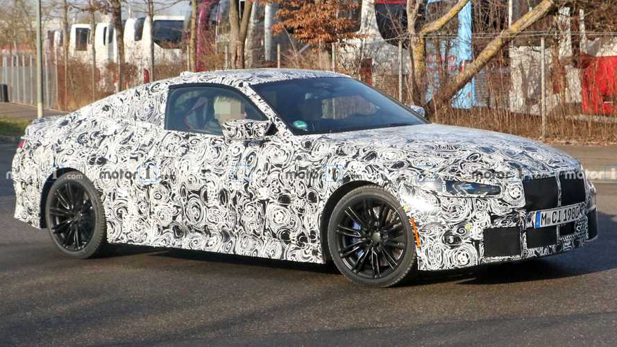 Photos espion BMW M4 - Janvier 2020