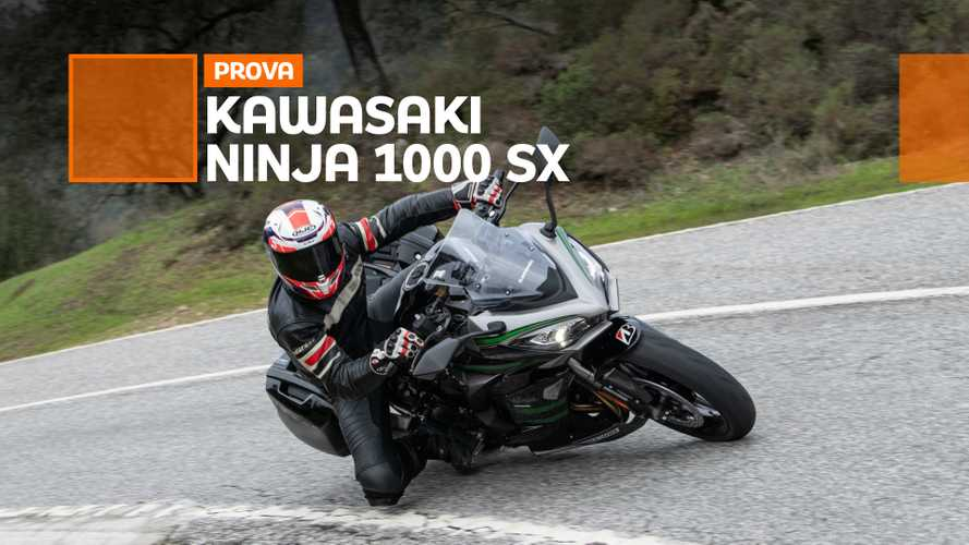 Kawasaki Ninja 1000 SX 2020 - TEST