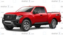Nuovo Nissan Frontier il nostro rendering