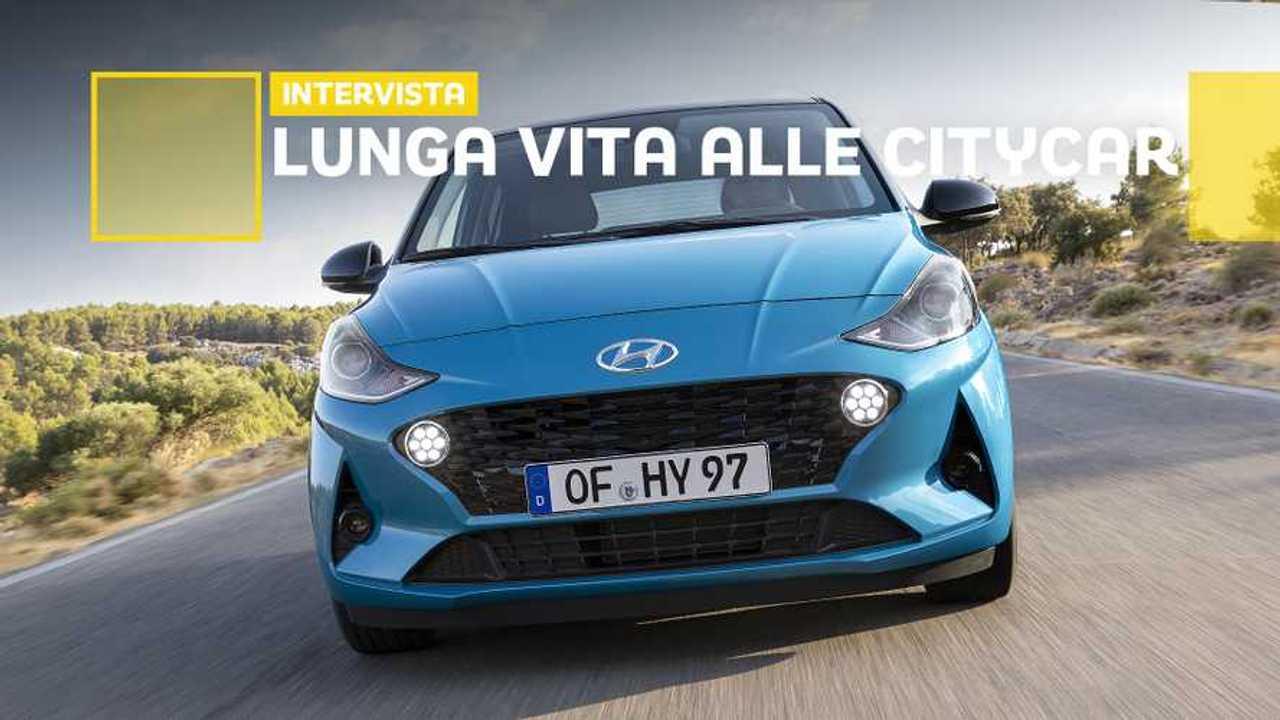 Hyundai i10, l'intervista