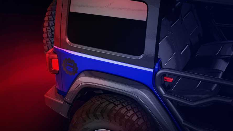 Jeep Performance Parts Teases Limited Edition Wrangler