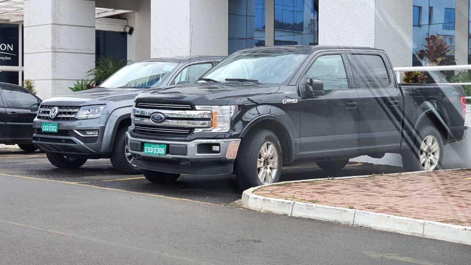 Flagra: Ford F-150 já roda no Brasil e pode chegar ainda em 2020