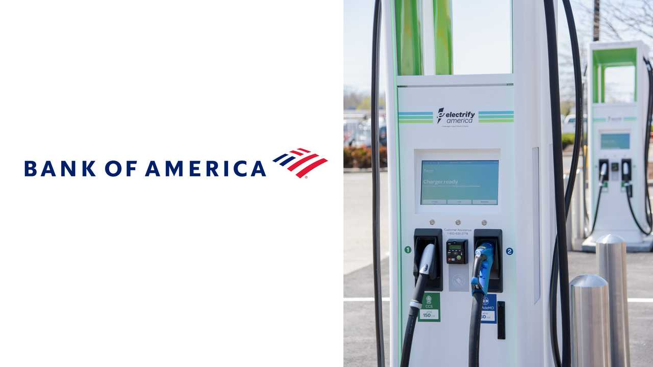 Electrify America Charging Stations at Bank of America Locations