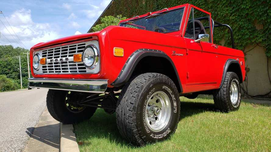 Adventures Await In This 4WD 1968 Ford Bronco