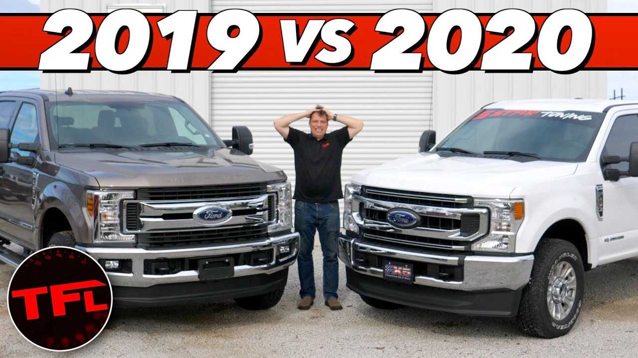 2020 ford super duty 6 7l diesel compared on dyno to 2019my