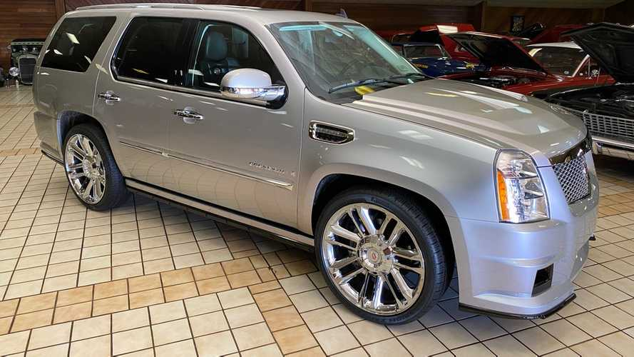 One-Off Cadillac Escalade With Supercharged V8 Could Be Yours