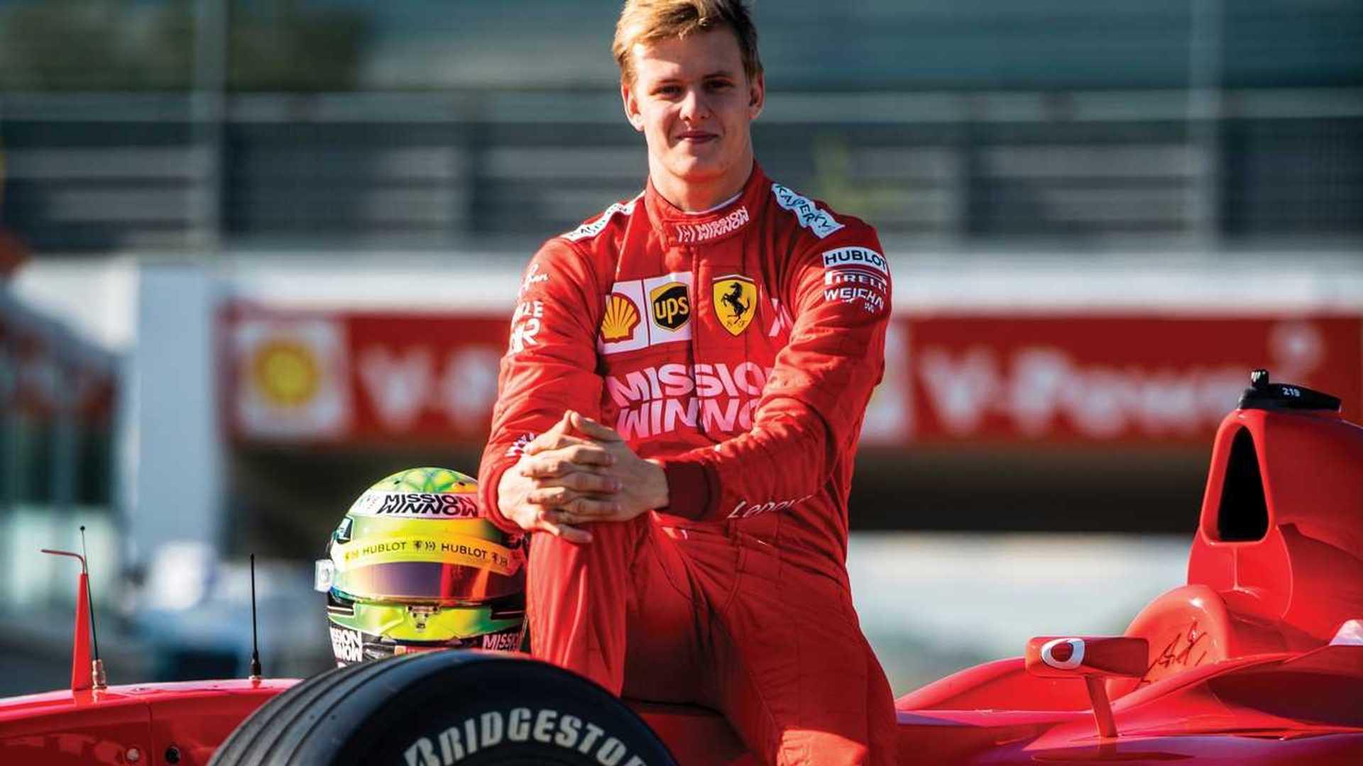 Ferrari 'pretty sure' Schumacher will be F1 seat contender