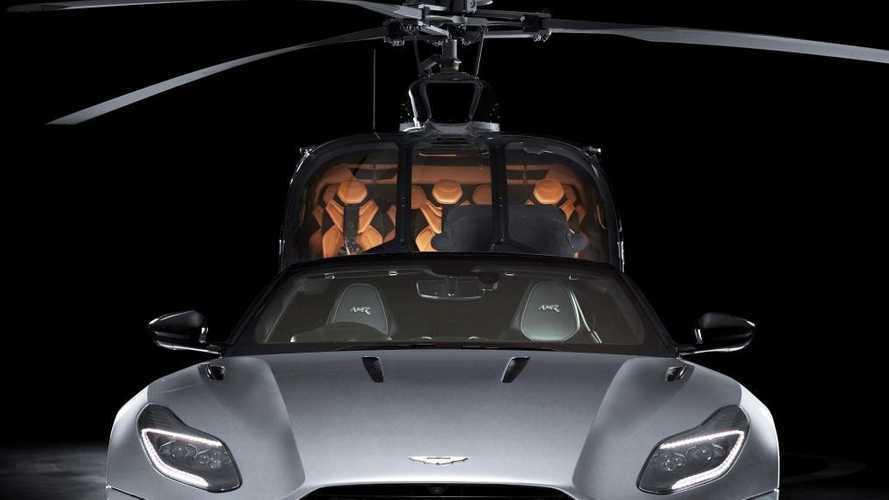 Aston Martin ve Airbus, yeni helikopterini tanıttı