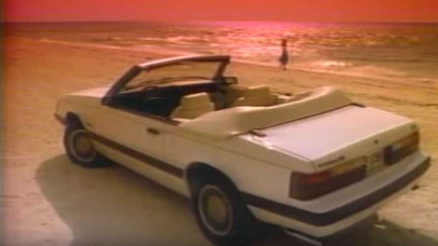 Watch A 1985 Ford Mustang Commercial