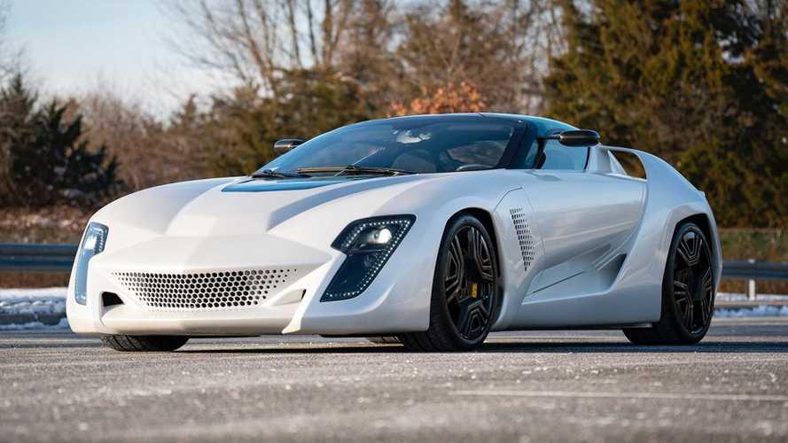 Bertone Mantide, all'asta la Corvette ZR1 sotto copertura