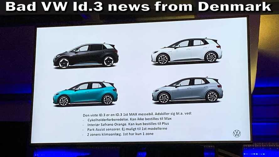 Report From Denmark: Volkswagen ID.3 Delayed Until August 2020
