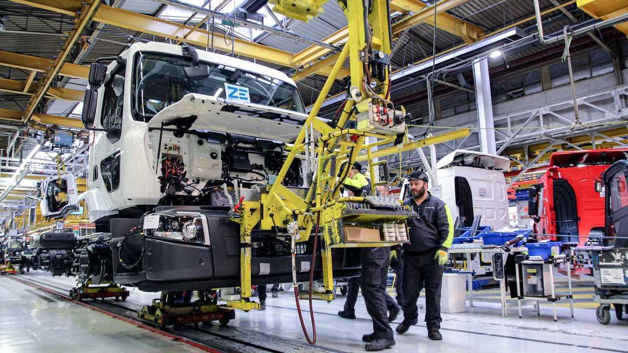 renault truck produzione camion elettrici