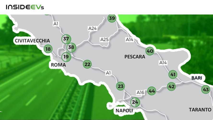 Piano Aspi Autostrade in Italia