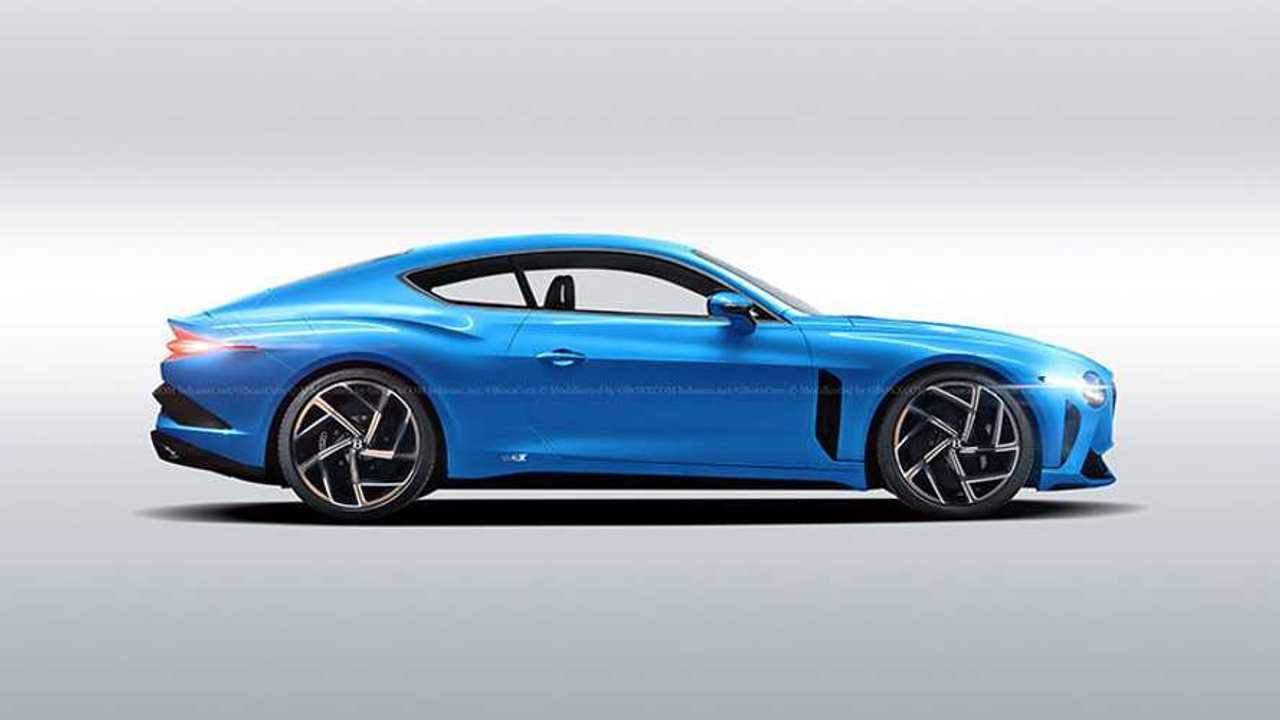 Bentley Bacalar Coupe rendering