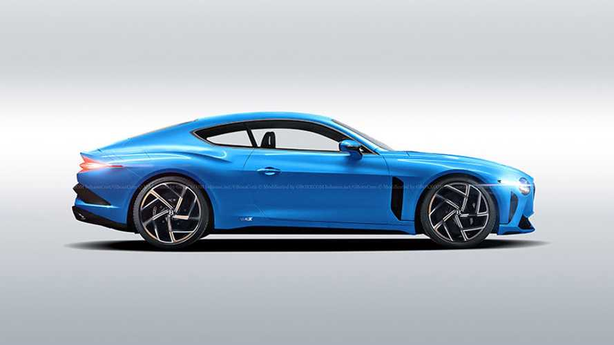 Bentley Bacalar Coupe Rendering Envisions A Two-Seat Continental GT