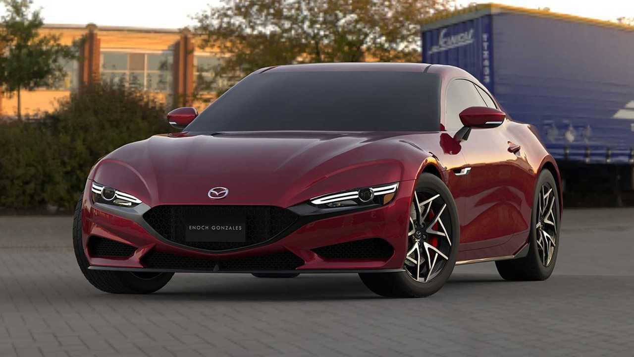 Render Mazda RX-7 2022