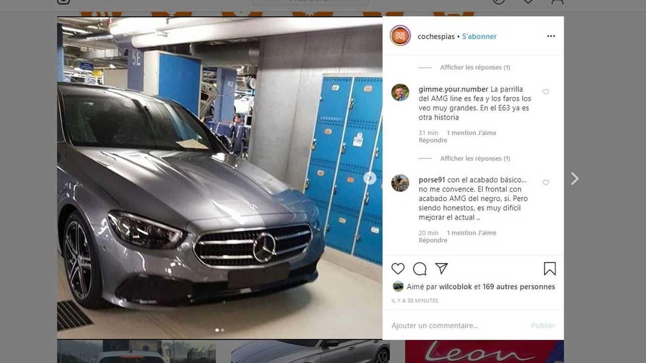 Mercedes-Benz Classe E restylée