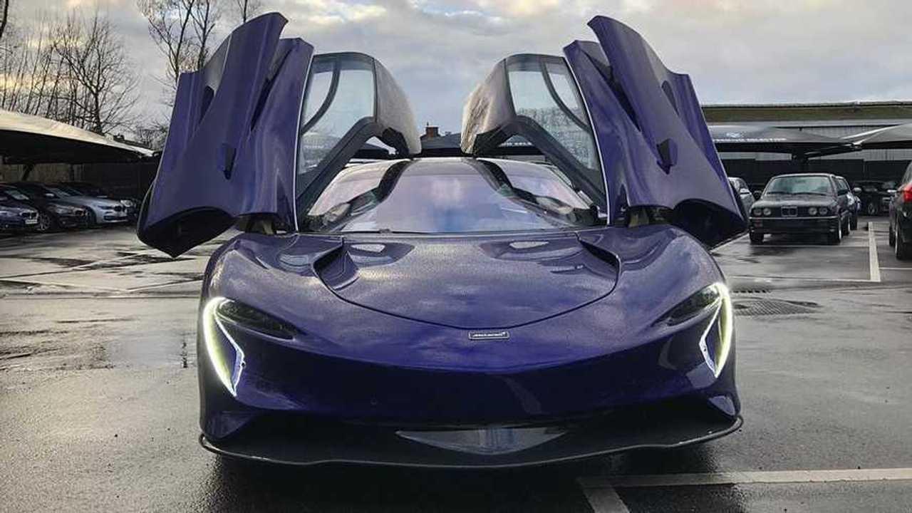 McLaren Speedtail itt: Belgium