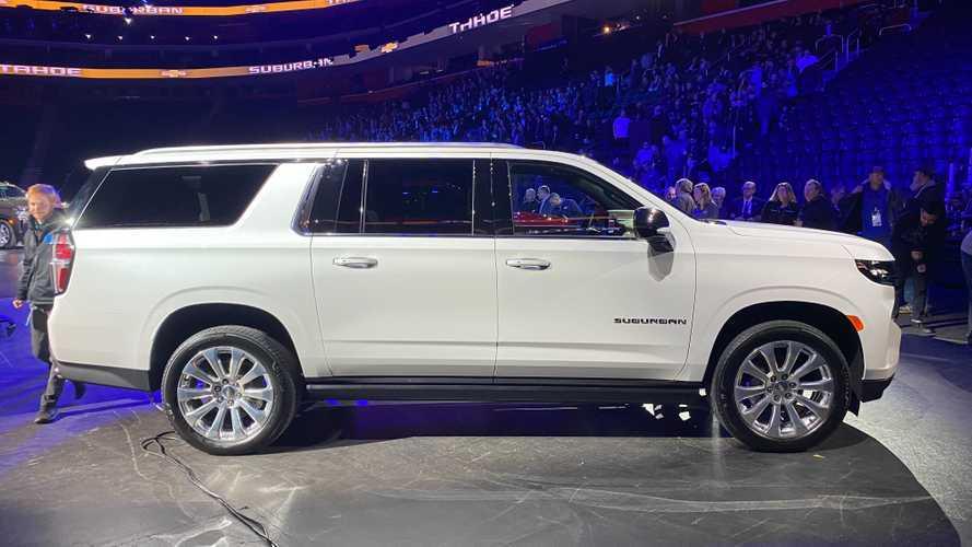 2021 Chevrolet Suburban | Motor1.com Fotos