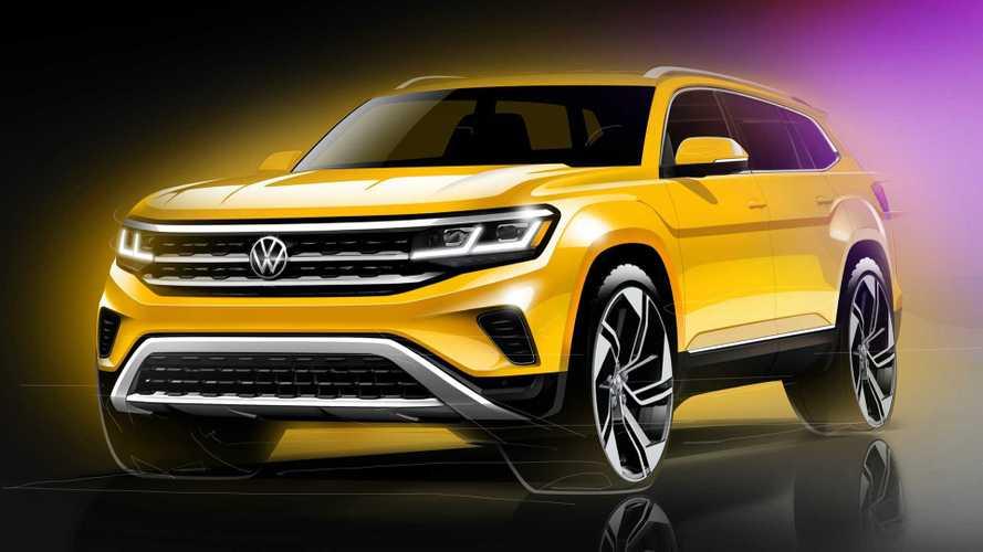 Стало известно, как будет выглядеть обновленный VW Teramont