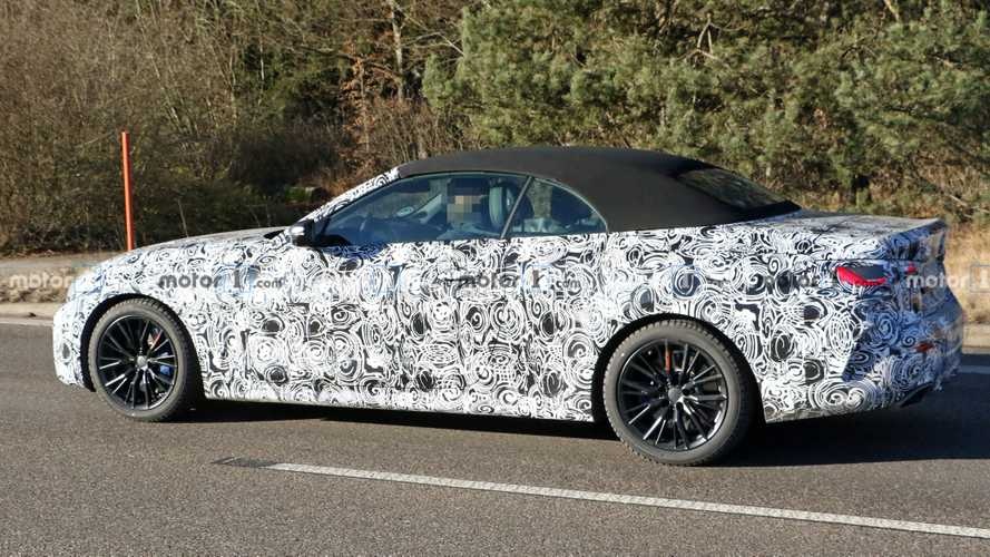 BMW 4 Series Convertible Refuses To Shed Camo In New Spy Shots