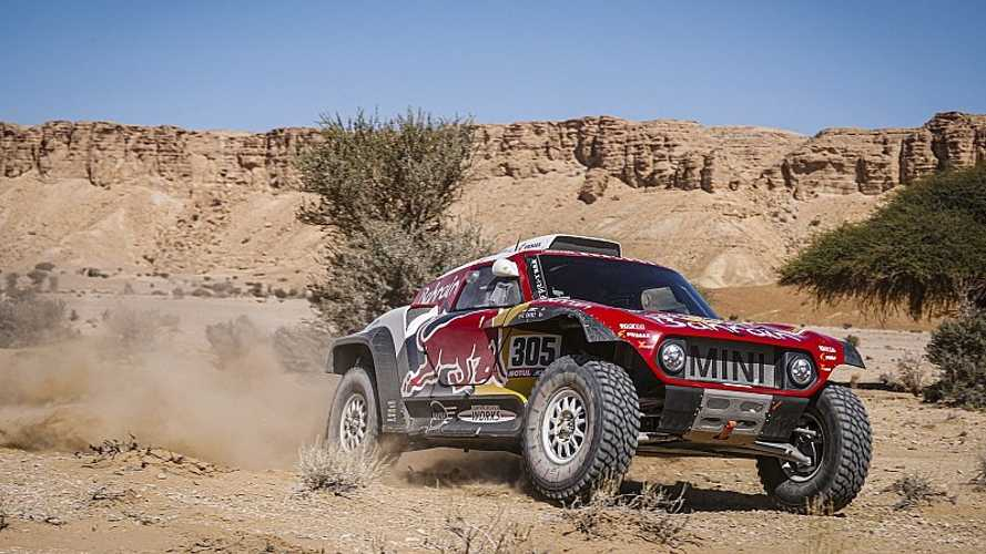 Sainz y Cruz pegan un mazazo al Dakar