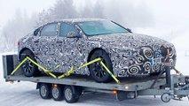 nuova jaguar xj elettrica foto spia