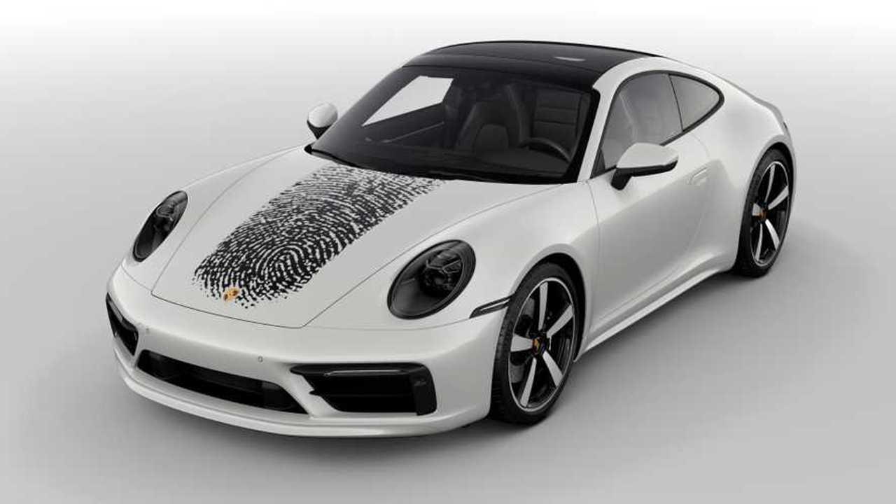 Jetzt möglich: Porsche mit eigenem Fingerabdruck auf der Fronthaube