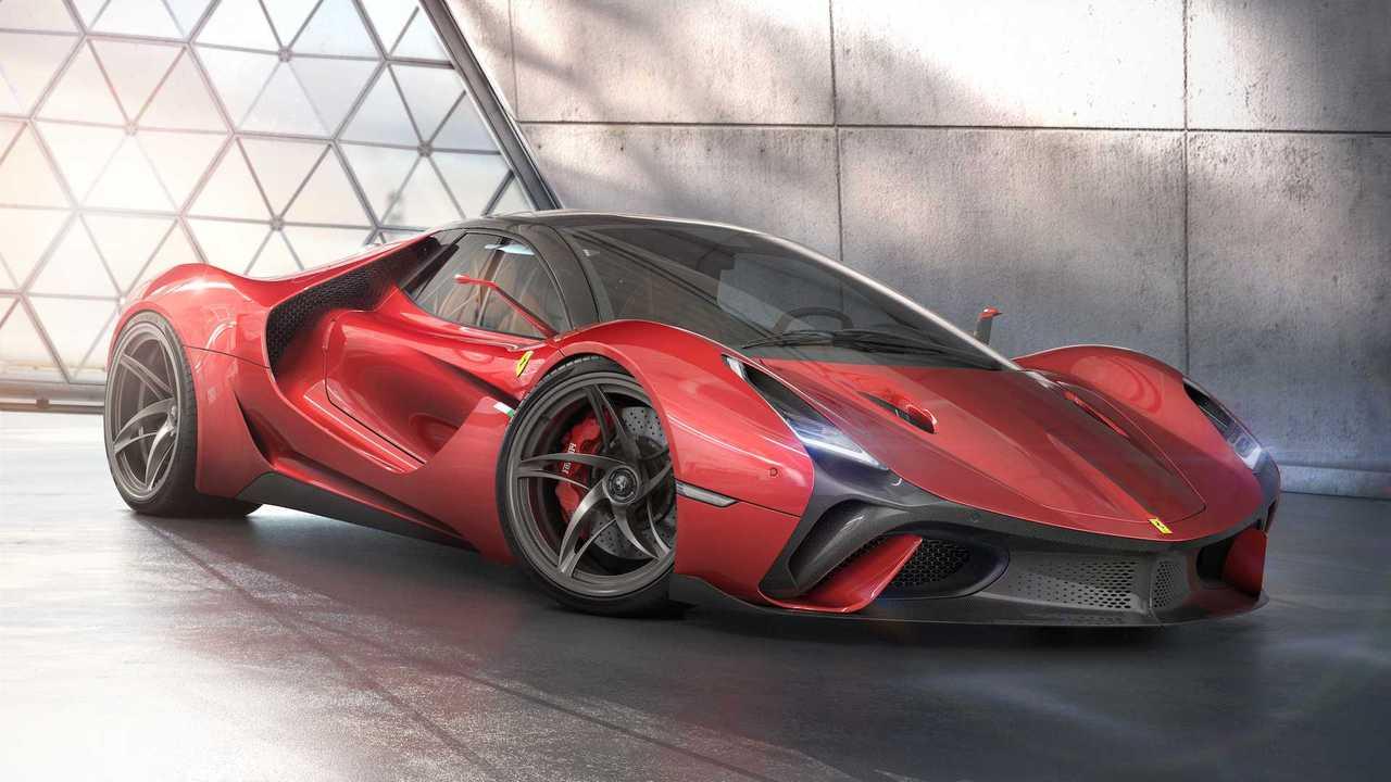 Ferrari Stallone Concept Is A Gorgeous Take On LaFerrari Successor