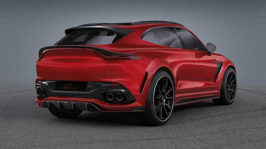 L'Aston Martin DBX se laisse maquiller par Lumma Design