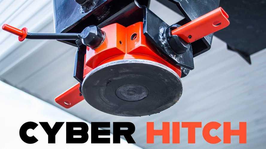Tesla Cybertruck Cyber Hitch Development Underway: See It Here