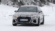 2022 Audi RS3 Sedan and RS3 Sportback spy photos
