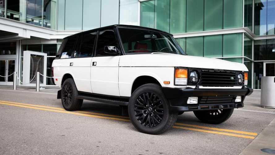 Este 'restomod' de un Range Rover clásico es irresistible