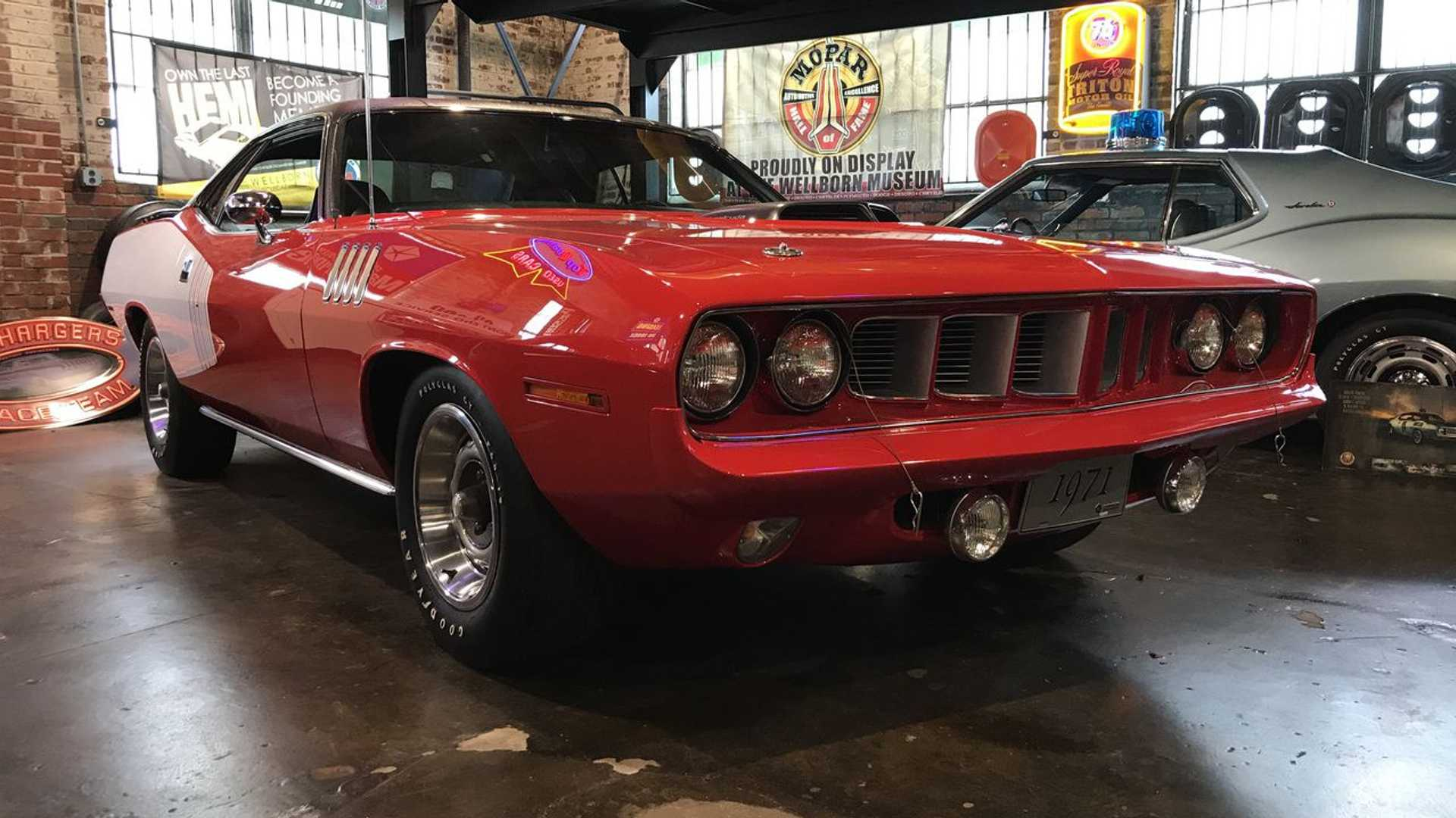 "[""Ten Things You Didn't Know About The Plymouth 'Cuda""]"