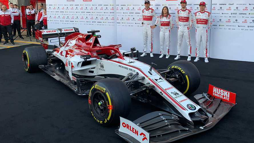 Alfa Romeo unveils livery for 2020 F1 season