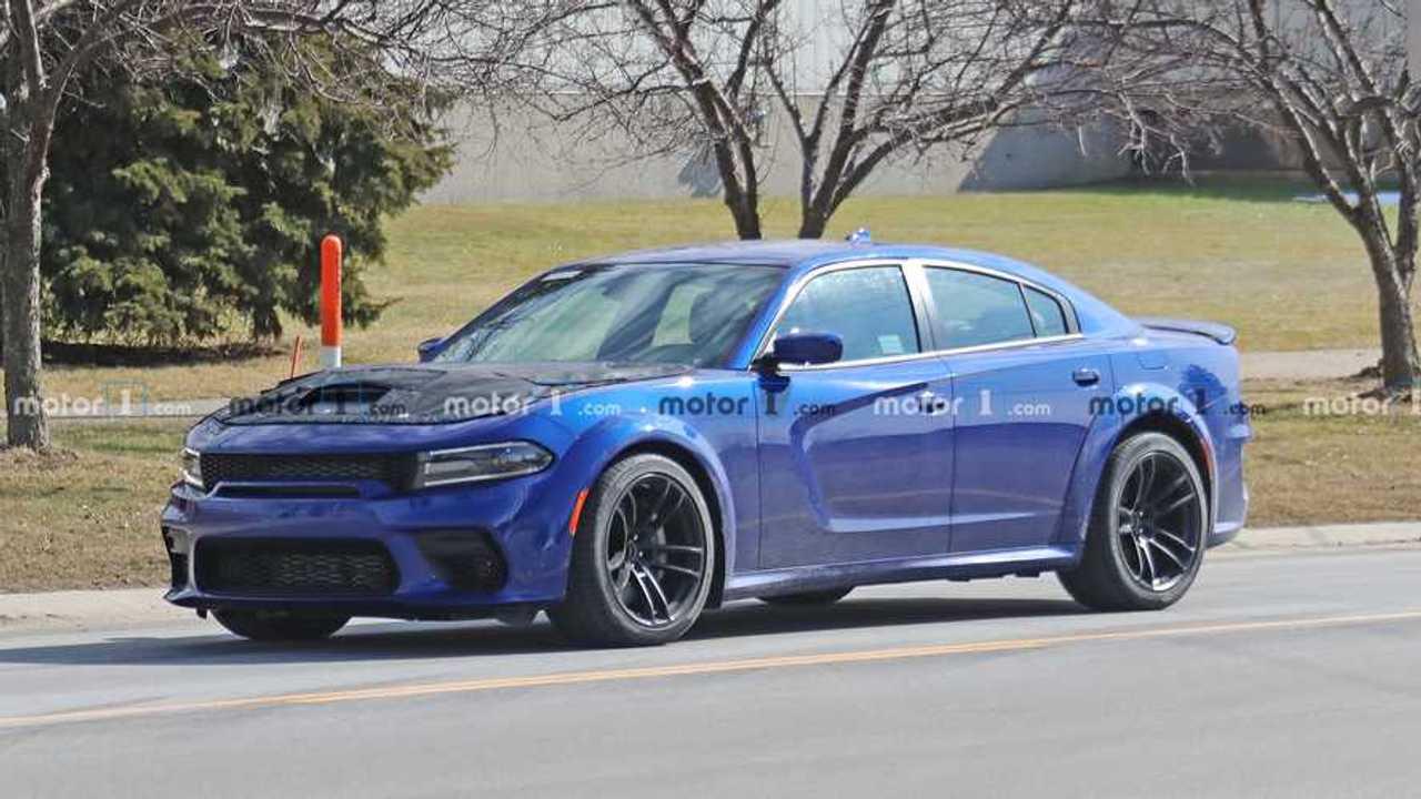 2020 Dodge Charger SRT Hellcat Redeye Casus Fotoğraflar