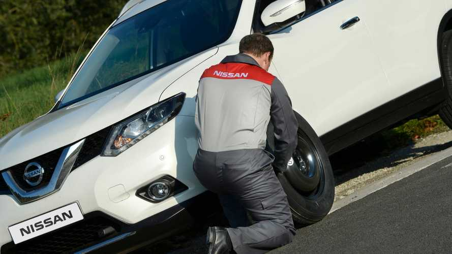 Nissan offers 'key workers' a roadside assistance package