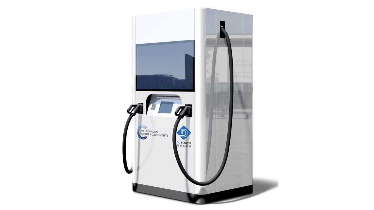 Volkswagen Flexible quick charging stations launch in China