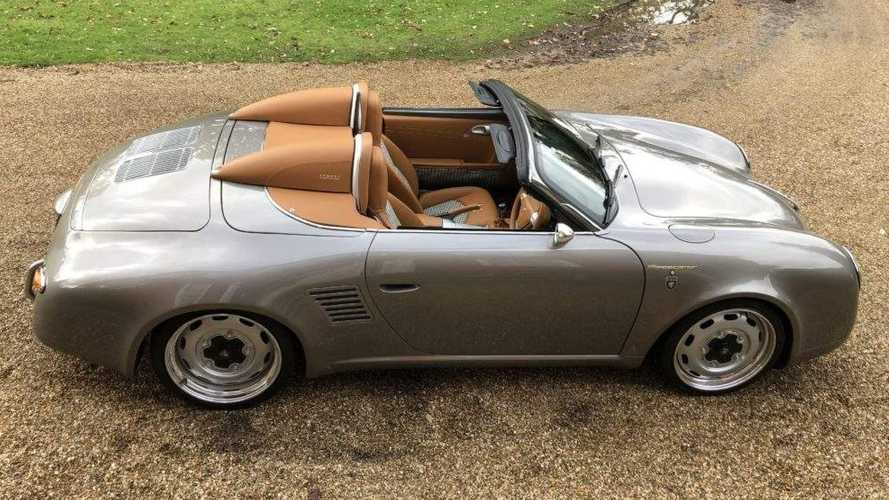 UK Porsche Boxster turned into brilliant 356 Speedster throwback