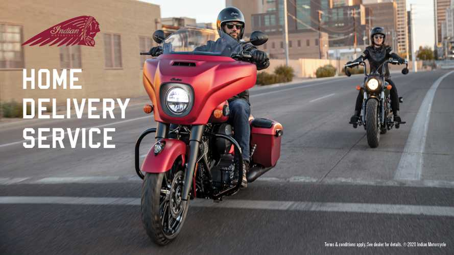 Indian Motorcycle Will Now Deliver Bikes Right To Your Door